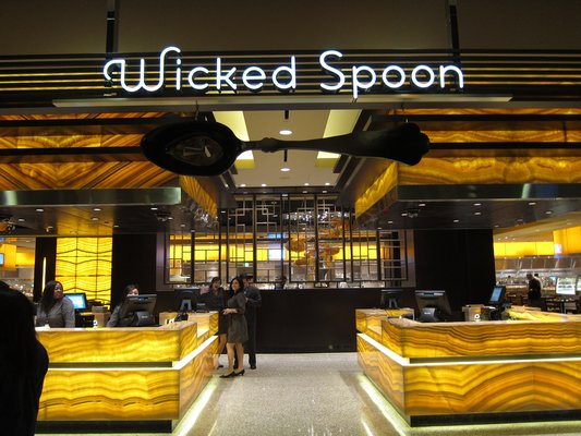 Wicked Spoon buffet at the